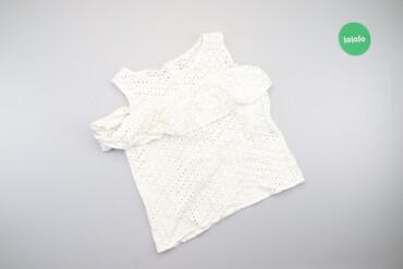 Жіноча блуза з вишивкою рішельє, р. М    Довжина: 51 см Ширина плечей