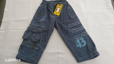 nove (nenošene) somot pantalone vel. 2 (26m. ) lično preuzimanje - Batajnica