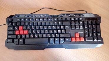 блютуз клавиатуру apple в Кыргызстан: Продам игровую клавиатуру SVEN. цена-490с