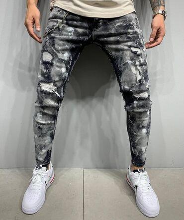 Мужская одежда - Кыргызстан: Мужские джинсы Качество LUXE Производство Турция