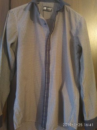 Рубашка подростковая в идеальном состоянии,почти не носились в Бишкек