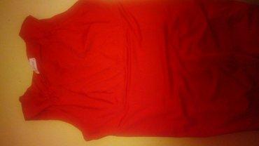 Crvena haljinica. Nosena samo jednom. Ne ostecena. Rastegljivog - Belgrade
