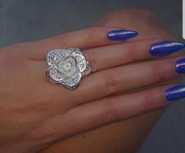 Prsten u obliku cveta, pun rad - Belgrade