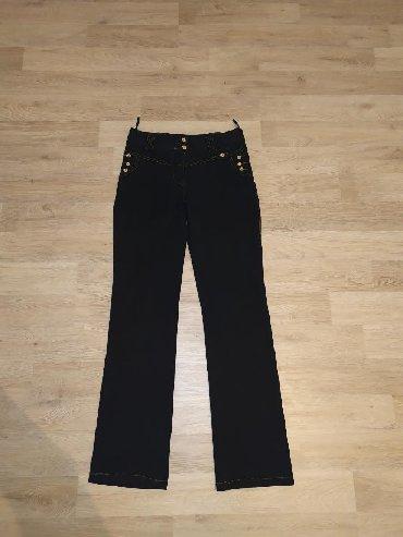 Pantalone-farmerice-br - Srbija: Crne zenske farmerice, jako prijatne, elasticne, broj 38