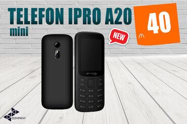 Digər mobil telefonlar - Azərbaycan: Sadə Telefon İPRO A20 mini▶ Zənglərin idarə olunması üçün ən ideal