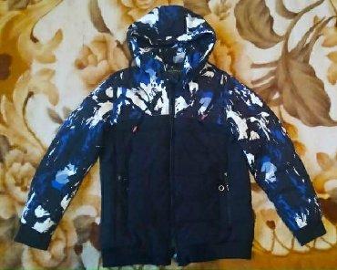 Зимняя подростковая куртка, качество и состояние отличное (надо