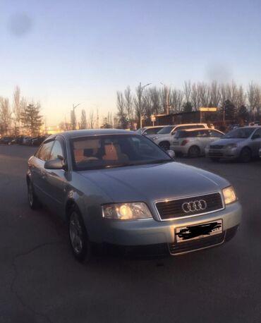 Практика вождения на механике - Кыргызстан: Audi A6 2 л. 2002 | 195000 км