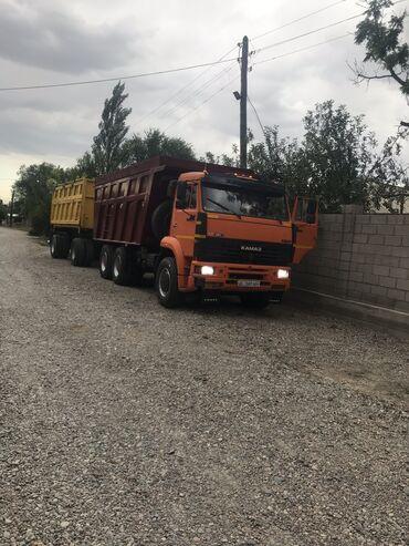 Купить грузовик до 3 5 тонн бу - Кыргызстан: Продаю или меняю на Land cruiser-100.Камаз с прицепом в отличном сос