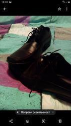 Muske kozne torbice - Srbija: Kozne muske cipele br 44