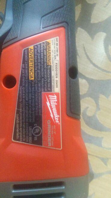 Продаю аккумуляторную безщеточную болгарку, Milwaukee 2780-20,только