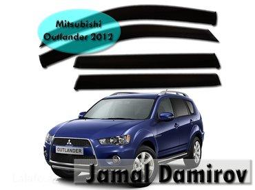 Bakı şəhərində Mitsubishi outlander 2012 üçün vetroviklər. Ветровики для mitsubishi