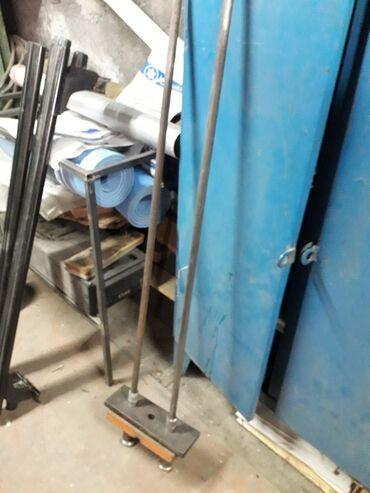 блины в Кыргызстан: Блины и направляющие для тросового тренажёра. Общий вес 100 кг