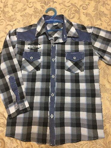 Сорочка для мальчика, покупали дорого,одевал пару раз,производства