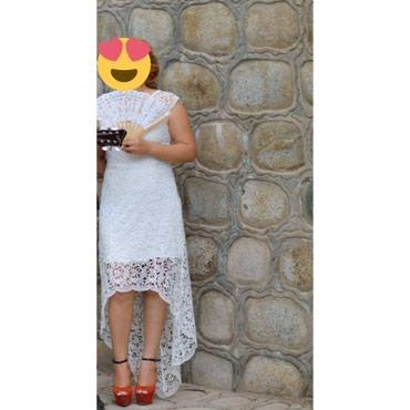Продаю кружевное платье. Размер 44-46. в Бишкек