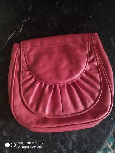Продаю сумочку,кошолек красный в стиле 80х