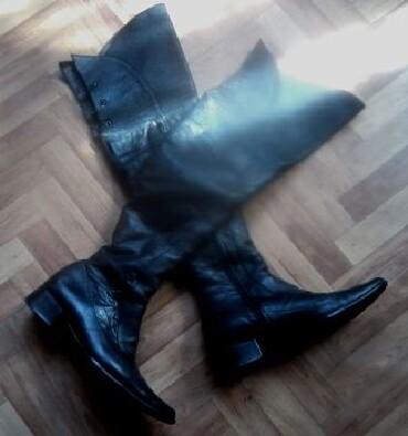 Отличные кожаные турецкие ботфорты! Размер 38