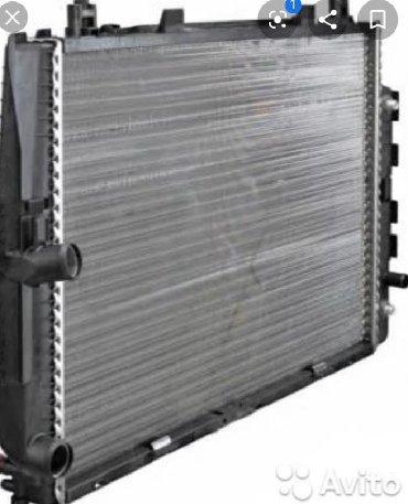 радиатор стальной в Кыргызстан: Радиатор мерседес 140