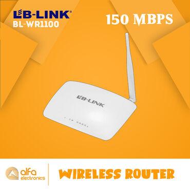 Lb-link BL-WR1100 routeri 3 - ü birindədir. Həm router həm akses point