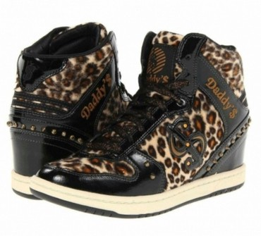 Skechers patike iz kolekcije daddy's money u leopard dezenu. - Belgrade