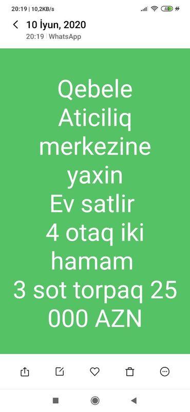 ev alqi satqi kiraye - Azərbaycan: Satılır Ev 200 kv. m, 4 otaqlı
