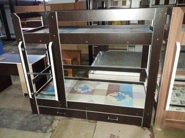 Двухъярусные кровати размер 190длина ширина 80с  в Бишкек
