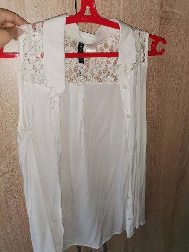 Bele s - Srbija: Bela košuljica s veličine