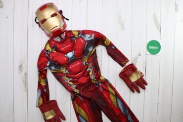 Дитячий костюм залізної людини Iron Man    Довжина костюма: 98 см Шири