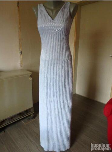 Duks haljina - Kraljevo: Elegantna haljina MNezno plava haljina, elegantniji model, svetluca
