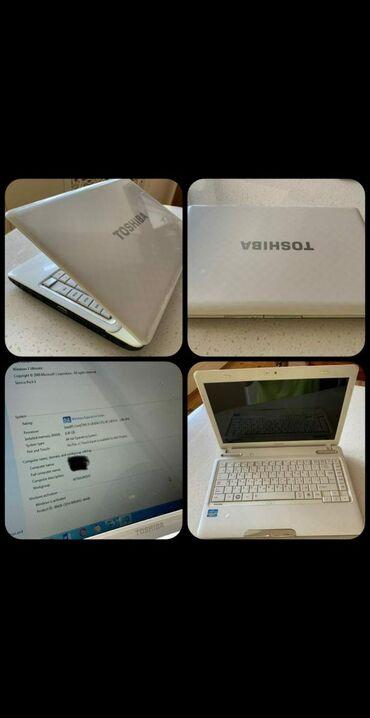 netbook satilir - Azərbaycan: Toshiba noutbooku satilir. İşlək veziyyetdedir. Tek problemi