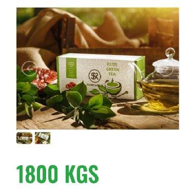 элитный горячий шоколад sr в Кыргызстан: Элитный зеленый 100% органический чай«SR»сорта Лунзцинсо 100%