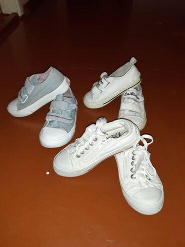 Детская обувь в Кара-Балта: Продам детскую обувь недорого. Серые 22 размер голубенькие 27 размер
