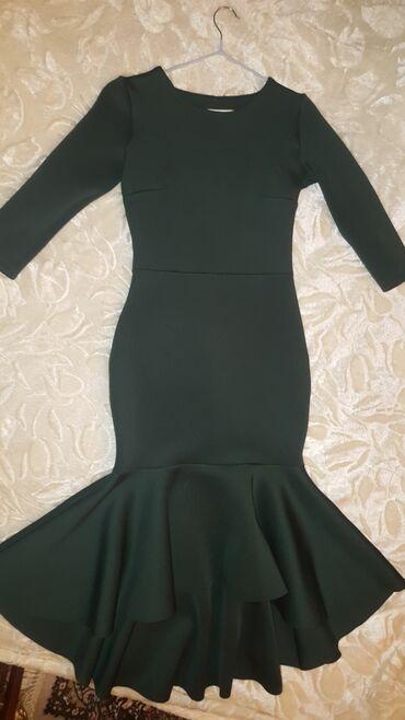 платье миди в Кыргызстан: Турецкое платье. Длины миди. Теплое. Б/у. надевала 2 раз. Состояние