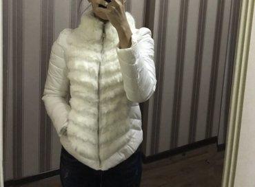Продаю стильную куртку,новая,мех в Бишкек