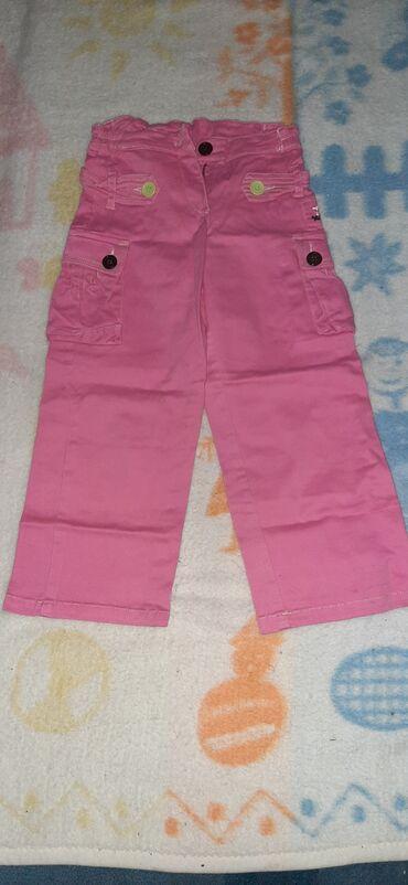 Sako i pantalone - Srbija: Nove TODOR pantalone, velicina 6, roze boje, imaju i dva dzepa sa