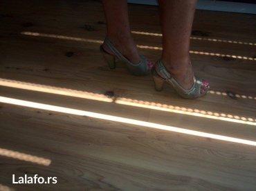 Sandale... Cele kombinacija jute,kudelje,sve prirodni materijali,broj - Belgrade