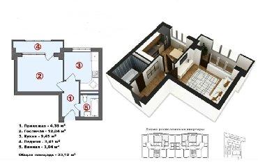 мичуринский квартал бишкек цены в Кыргызстан: Продается квартира: 1 комната, 33 кв. м