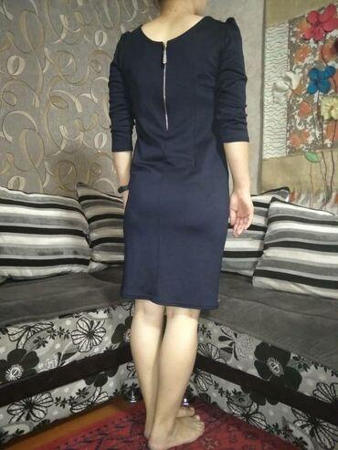 Личные вещи - Ош: Вечернее платье гладкий трикотаж  размер 46-48  отличное состояние