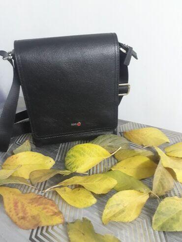 Мужская кожаная сумка Производство турция 3400