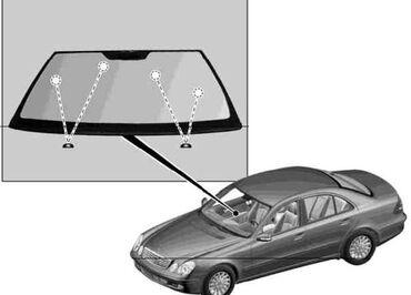 Передний Лобовое стекло Mercedes-Benz W211  9год  Доставка и установка