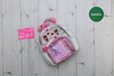 Дитячий рюкзак з наліпками LOL   Висота: 24 см Довжина: 24 см  Стан ві