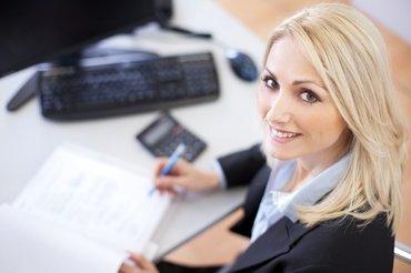 Требуется помощник бухгалтера в оптовую компанию возраст от 18 до 45 в Бишкек