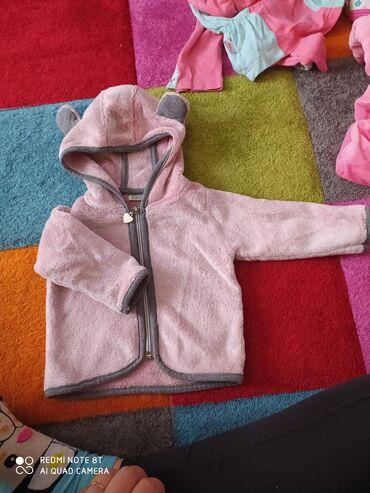 Tanka bundica kao nova mekana za devojcice roze boja 12 meseci