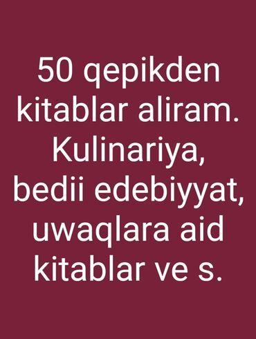 aliram - Azərbaycan: 50 qepikden kitablar aliram. Maraqli kitablar. Isteyen yazsin