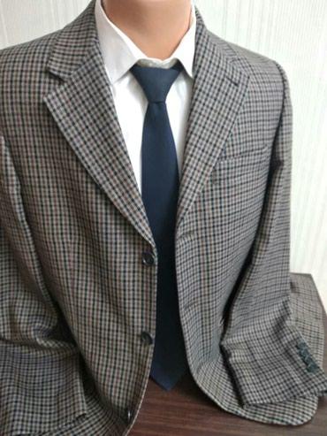 Мужской пиджак! Производство Турция! Размер 50-52 Отдам за 1500 в Бишкек