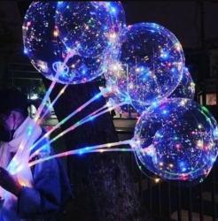 цифры из шаров с полянкой в Кыргызстан: Светящийся надувной шар!Несколько редисов мерцания!С наполнением
