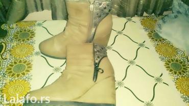 Zenske zimske kratke cizme gleznjace postavljene krznóm br. 39 - Knjazevac