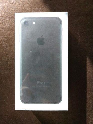 Продаю новый iphone 7 128 gb черный матовый запечатанный в Бишкек