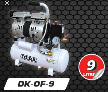 Bakı şəhərində Kompressor Dera  ( 9 litir ) 8 atmosfer.    Səssiz işLəyir,
