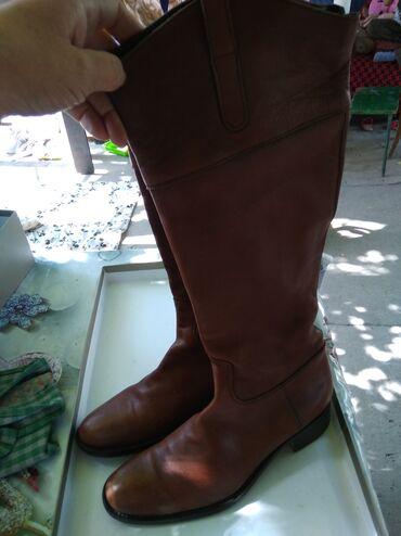 hd 1500 в Кыргызстан: Продаю сапоги женские деми. Производство Германия. Кожа. Размер 38