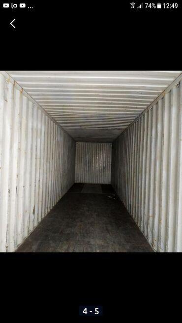 2) сдается 40тонник контейнер под склад. в районе компании Шоро. древ